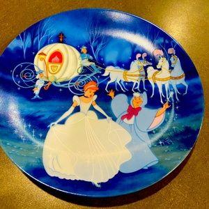 Cinderella decorator plate